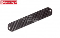 FG1015 Carbon strip, B24-L120 mm, 1 pc