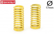 FG10182 Shock spring yellow Ø2,3-L48 mm, 2 pcs.