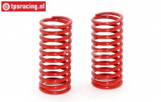 FG10183 Shock spring red Ø2,4-L48 mm, 2 pcs.