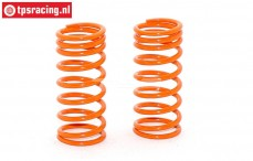 FG10191 Shock spring progressive Orange Ø2,2-L48 mm, 2 pcs.