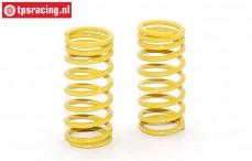 FG10192 Shock spring progressive yellow Ø2,3-L48 mm, 2 pcs.