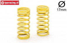 FG10192 Shock spring progressive yellow Ø2,3-L48 mm, 2 pcs.