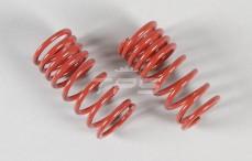 Schokdemper veer progressief, (Ø17-Ø21), (2,4 x L48 mm), (Rood), 2 St.