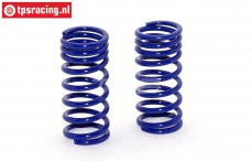 FG10194 Shock spring progressive Bleu Ø2,5-L48 mm, 2 pcs.