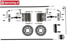 FG10452 Tuning cable brakes front, Formula 1, Set
