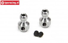 FG10480/03 Aluminium roll-bar Ball, (Ø3-Ø7 mm), 2 pcs.