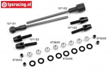 FG1071 Stabilizer rear, Ø4,0 mm, Set