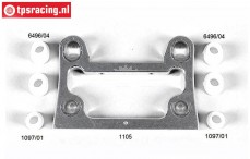 FG1105 Alloy front bulkhead A/B Competition-Evo, 1 st.