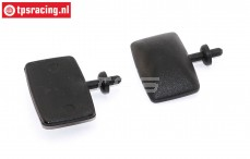 FG12056 Rear view mirror Trucks, 2 pcs.