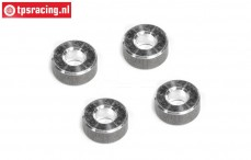 FG1213/09 Alloy distance, (Ø4-Ø7-H3 mm), 4 pcs