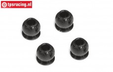 FG1213/10 Steel ball Ø3-Ø7-H6,6 mm, 4 pcs