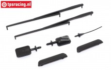 FG1435 Body detail Touring Cars, Set