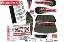 FG20155 Decals FG Monster-Stadium-Street Truck, Set