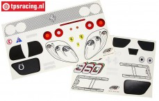 FG2069/01 Decals Ferrari 360GT, Set
