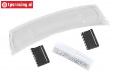 FG2082 Rear wing Chrysler Viper transparant, Set