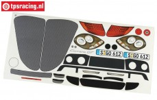 FG2083/01 Decals Porsche Carrera GT, Set