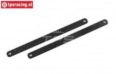 FG3010/04 Carbon side protection L296 mm, 2 pcs.
