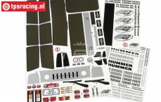 FG30155 Decals Hummer H2, Set