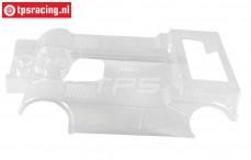 FG3071/01 Main part MAN Race Truck 4WD Transparant, 1 pc.