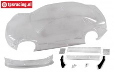 FG4149 Body Audi A4 DTM transparant, Set