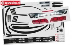FG4173/01 Audi R8 LMS Decals, Set