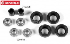 FG4405 Ball bearing lightweight, FG 2WD front axle, Set