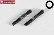 Headless Pin FG, (M4-L25 mm), 2 pcs