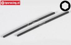 Headless Pin FG, (M4-L100 mm), 2 pcs