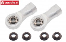 FG4437/01 Alloy balljoint, M8L-Ø5 mm, 2 pcs