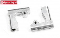 TPS1247 Aluminium wishbone rear upper 2WD, Set
