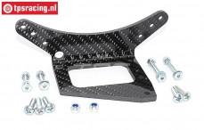 FG4481 Carbon rear axle reinforcement 1/5-1/6, Set