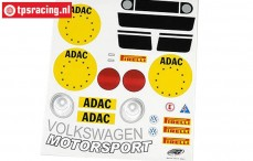 FG5053/01 Decals VW New Beetle, Set