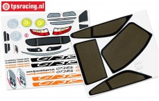 FG5175/01 Decals Porsche GT3-RSR, Set