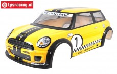 FG5178 Body MINI Cooper painted Yellow, Set