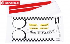 FG5185 Team Decals MINI Cooper, Set