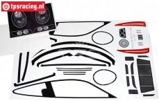 FG5194 Decals Porsche 911 GT3-R, Set