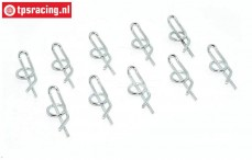 TPS6013/10 Body Clips TPS Special, 10 pcs.