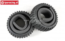 FG60214 Narrow Buggy tyres Soft with foam, 2 pcs.