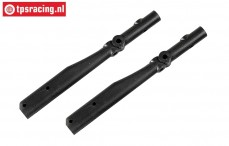 FG60239 Roll cage part rear 1/6 Buggy L142 mm, 2 pcs.