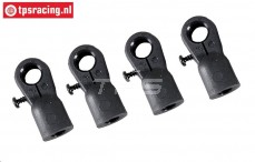 FG6029/04 Ball-and-Socket M6-Ø10 mm, 4 pcs.