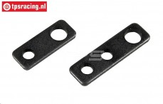 FG6037/01 Steel engine mounting plate, 2 pcs.