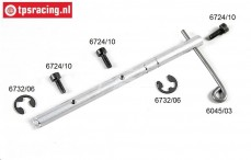 FG6045/01 Brake shaft with lever '97, Set