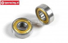 FG6078/05 Ball bearing FG, (Ø8-Ø22-H7 mm), 2 pcs