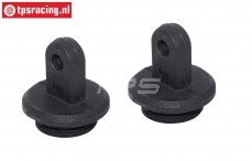 FG6087 Upper Shock closure, Ø4-Ø20 mm, 2 pcs.