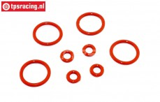 TPS6093 Shock absorber Silicone O-ring, Set