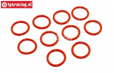 TPS6093/02 Shock absorber Silicone O-ring Ø13-D2 mm, 10 pcs