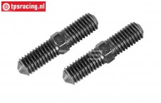 FG6100/03 Threaded rod M8 L/R-L32 mm, 2 pcs