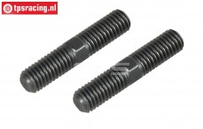 FG6100/04 Threaded rod M8 L/R-L39 mm, 2 pcs