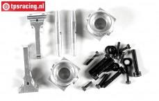 FG6103/05 Aluminium Wheelhub front 1/6, 2WD Set