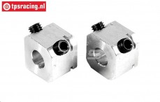 FG6107/01 Alloy Wheel square, L14 mm, 2 pcs